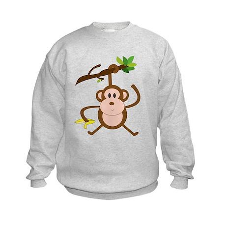 Monkeying Around Kids Sweatshirt