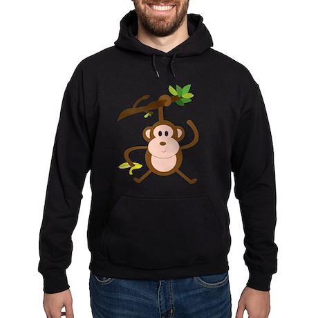 Monkeying Around Hoodie (dark)