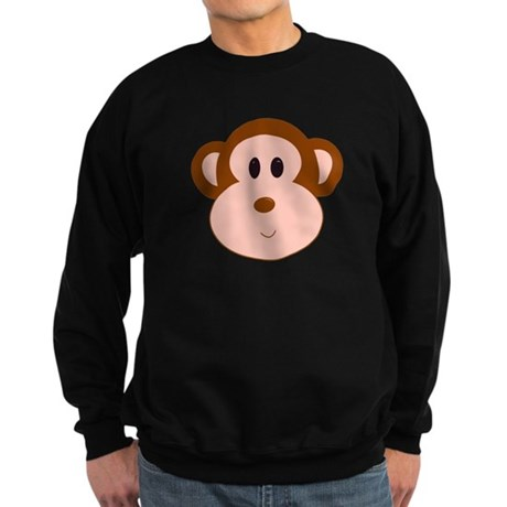 Monkey Portrait Sweatshirt (dark)