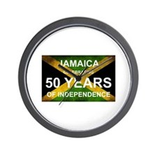 Ja 50th Anniversary Wall Clock