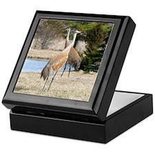 Sandhill Crane Keepsake Box