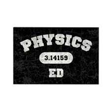 Physics Ed Rectangle Magnet