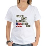 Army national guard Womens V-Neck T-shirts