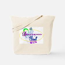 Bollywood Girl! - multi-color Tote Bag