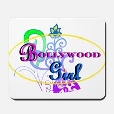 Bollywood Girl! - multi-color Mousepad