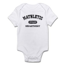 Mathletic Department Infant Bodysuit