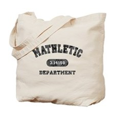 Mathletic Department Tote Bag