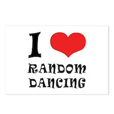 iCarly Random Dancing Postcards (Package of 8)