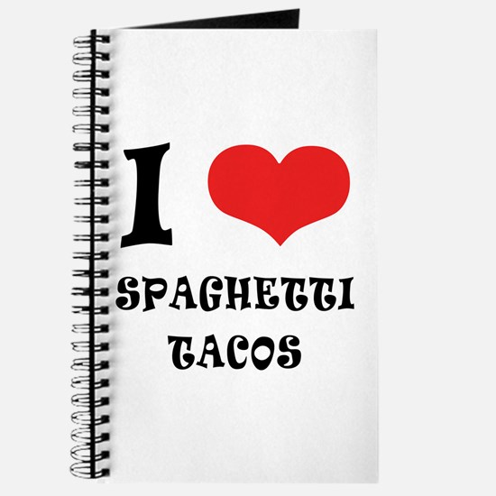 iCarly Spaghetti Tacos Journal