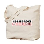 Horn Broke Tote Bag