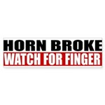 Horn Broke Sticker (Bumper 10 pk)
