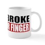 Horn Broke Mug