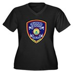 Dearborn Heights Police Women's Plus Size V-Neck D