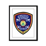 Dearborn Heights Police Framed Panel Print