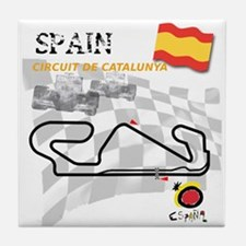Spanish Grand Prix Tile Coaster