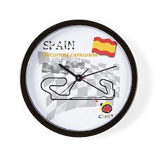 Spanish Grand Prix Wall Clock