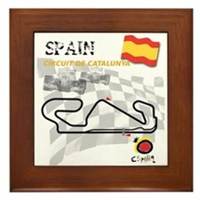 Spanish Grand Prix Framed Tile