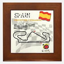 Spanish Grand Prix Framed Tile