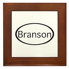 Branson Framed Tile