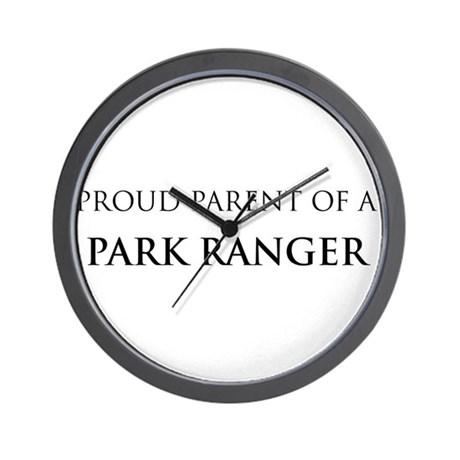 Proud Parent: Park Ranger Wall Clock
