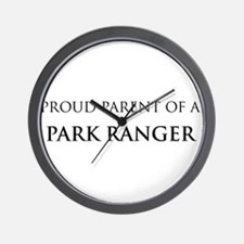 Proud Parent: Park Ranger Wall Clock