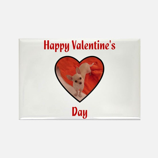 Happy Valentine's Day (chi) Rectangle Magnet (100