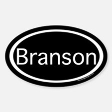 Branson Sticker (Oval)