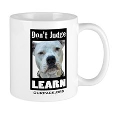 Don't Judge...Learn Mug