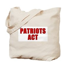 Cool Patriot act Tote Bag