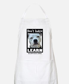 Don't Judge...Learn Apron