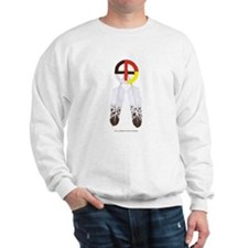 Medicine Wheel w/ Feathers Sweatshirt