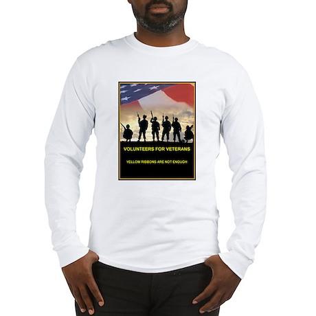 Volunteers for Veterans Long Sleeve T-Shirt