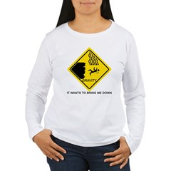 Gravity Yield Sign T-Shirt