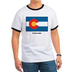 Colorado State Flag (Front) T