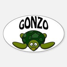 Gonzo Sticker (Oval)