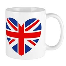 Funny British flag Mug
