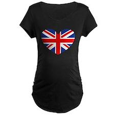 british heart Maternity T-Shirt