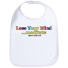 Lose Your Mind, Meditate Bib