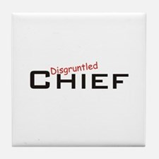 Disgruntled Chief Tile Coaster