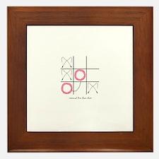 Cute Glambert Framed Tile