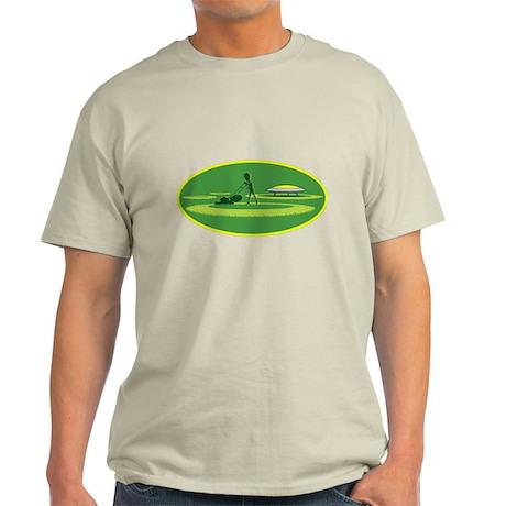 Crop Circle Being Made Light T-Shirt