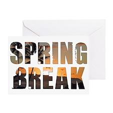 Cute Spring break 2011 Greeting Card