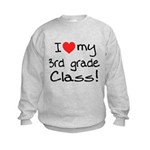 3rd Grade Class: Kids Sweatshirt
