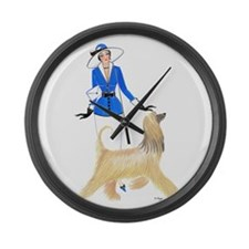 Renee and Ambrose Large Wall Clock