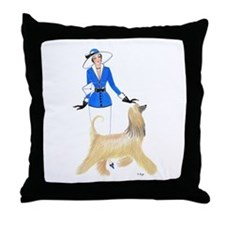 Renee and Ambrose Throw Pillow