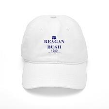 Reagan Bush 1980 Baseball Cap