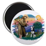 St Francis #2/ Siberian H #1 Magnet