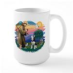 St Francis #2/ Siberian H #1 Large Mug