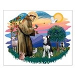 St Francis #2/ Siberian H #1 Small Poster