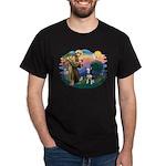 St Francis #2/ Siberian H #1 Dark T-Shirt